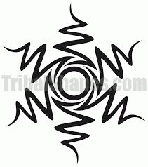 best free tribal designs sun