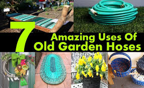 Recycling Ideas For The Garden 7 Amazing Uses Of Garden Hoses Diy Home Creative