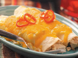 creamy chicken enchiladas recipe taste of home