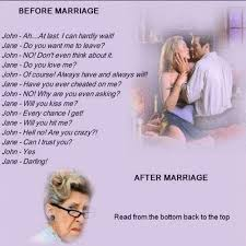 wedding quotes jokes before and after marriage before and after marriage joke