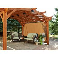 12 X 12 Pergola by Ogr Outdoor Greatroom Company Sonoma Pergola 12x12 Feet