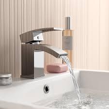 ibathuk chrome basin sink mixer tap modern bathroom lever faucet ibathuk chrome basin sink mixer tap modern bathroom lever faucet tb93 ibathuk amazon co uk diy tools