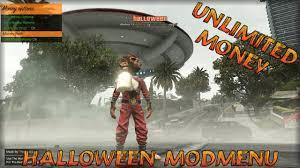 gta 5 pc 1 40 halloween unlimited money modmenu download youtube