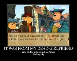 Professor Layton Meme - professor layton s hat by ultimaredfox on deviantart
