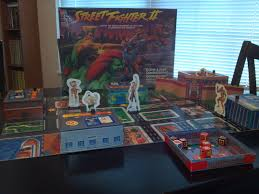 Expandable Game A 2d Fighting Board Game That U0027s The Way Of The Fighter Popgeeks Net