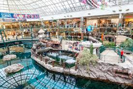 shoppers visit the west edmonton mall at 5 300 000 sq ft it