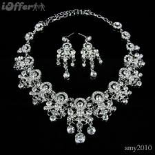 wedding necklace bride images Luxury bride princess royal style wedding jewelry sets for sale jpg