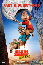 alvin and the chipmunks alvin and the chipmunks the road chip movie poster 9 of 11