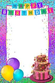 Border Designs For Birthday Cards Pin By Nadine On Frames Borders Pinterest Clip Art Balloon