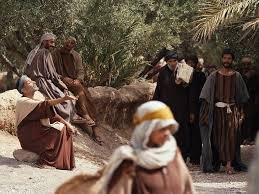 Jesus Healed The Blind Man Free Bible Images Jesus Heals Bartimaeus A Blind Man Begging