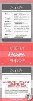 modern resume sles 2016 references best 25 teacher resume template ideas on pinterest resume