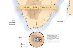 Kalahari Desert Map Buying Selling U0026 Usufruct Martin Panchaud