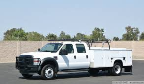 2008 ford f550 4x4 crew cab service truck youtube