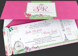 boarding pass wedding invitations wedding boarding pass invitation template inspiks market