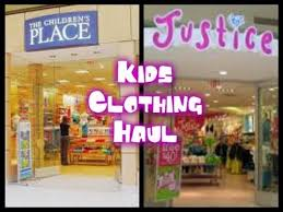 justice at the mall kids summer clothing haul children s place justice