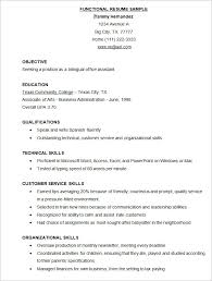 functional format resume template cv exles free sle free functional resume template