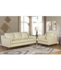 Top Grain Leather Living Room Set by Living Room Sets