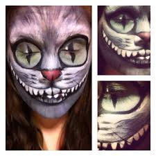 tim burton cheshire cat face paint animal costumes pinterest
