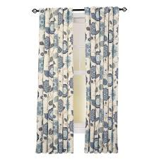 108 Drapery Panels Home Decorators Collection Spring Blue Garden Gate Back Tab