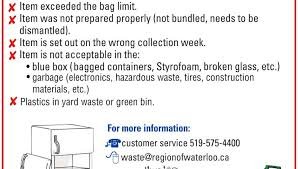 garbage collection kitchener green bin organics regarding city of kitchener garbage collection