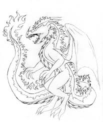 fire dragon sketch 2 by linear13 on deviantart