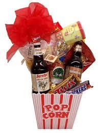 Movie Night Gift Basket Ideas 28 Movie Night Gift Basket Flowers From The Rainflorist