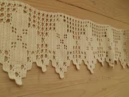 Crochet Valance Curtains 36 Best Valances Images On Pinterest Crochet Curtains Filet