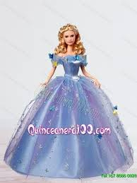 quinceanera dolls gorgeous tulle cinderella quinceanera doll in blue for 2015