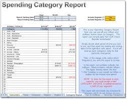 Treasurer Spreadsheet Excel Check Register Moneyspot Org