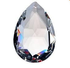 Glass Crystal Chandelier Drops 15pcs Lot 50mm Glass Hanging Prism Pendants Crystal Chandelier