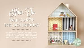 ferm living dolls house wallpaper room to bloom