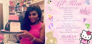 lil kim treats baby like royalty at her baby shower
