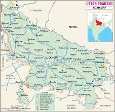 road map up pradesh road map
