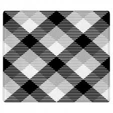 Checkered Area Rug Black And White Plaid Rugs U0026 Floor Mats