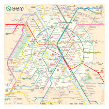 Metro Map New York by Paris Metro Map U2013 The Redesign U2013 Smashing Magazine