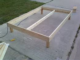 How To Make A Box Bed Frame Bed Frame He Said It Cost 150 In Materials But That Seems High