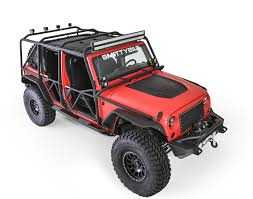 smittybilt 76840 xrc exoskeleton for 07 17 jeep wrangler unlimited