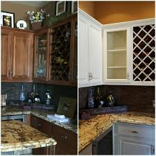 kitchen cabinet refinishing before and after professional cabinet refinishing services restyle junkie