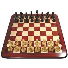 luxury staunton redwood chess set u2013 triple weighted pieces with