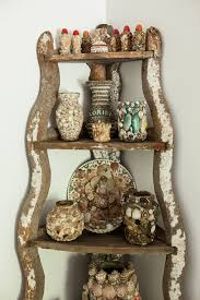vintage on the shelf display collections how to decorate with antiques