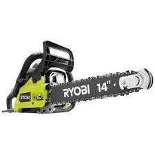 home depot black friday ryobi saw ryobi chainsaws outdoor power equipment the home depot