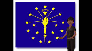 Facts About Georgia State Flag Indiana State Flag Facts Youtube