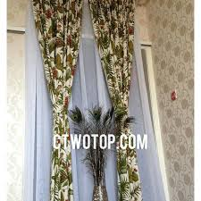 palm tree curtains for living room decor tiny house u2013 muarju