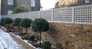 image result for trellis on brick wall backyard ideas and