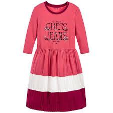 girls pink jersey dress childrensalon