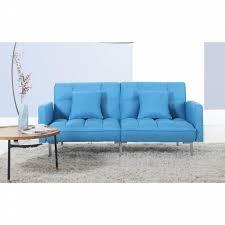 madison home tufted sofa madison home modern plush tufted linen fabric splitback living room