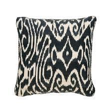 black luce ikat pillow madeline weinrib
