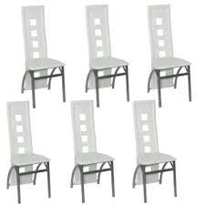 lot de 6 chaises salle à manger lot chaises salle a manger hypnotisant chaise de salle manger pas