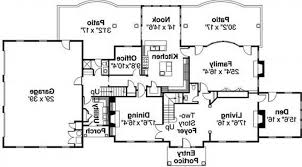 One Level Luxury House Plans Tuscan Style One Story Homes Print Elevation View Larger Image