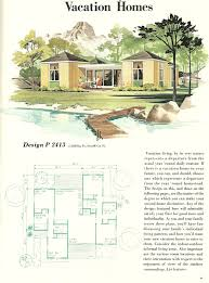 vacation house plans vintage house plans vacation homes 1960s vacation homes